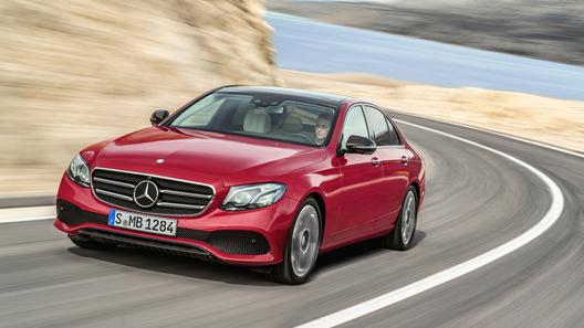 Российская гамма Mercedes-Benz E-класса пополнилась мощными версиями