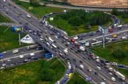 Разработан проект реконструкции МКАД на севере Москвы