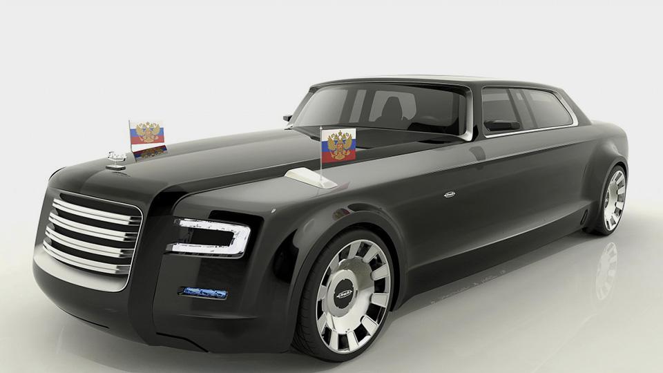 В Москве показали 860-сильный мотор для президентского лимузина