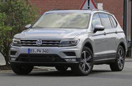 Рассекречена внешность удлиненного VW Tiguan