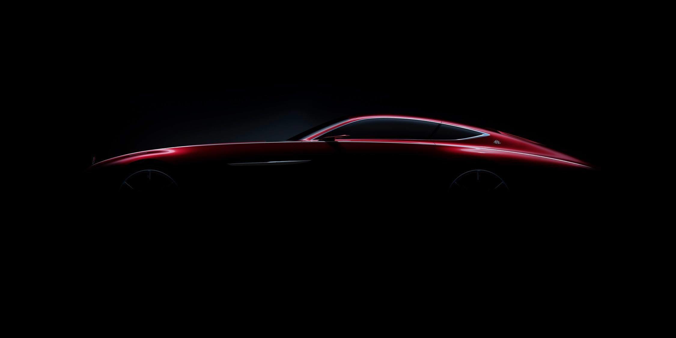 Новое мега-купе Mercedes-Maybach: первое фото