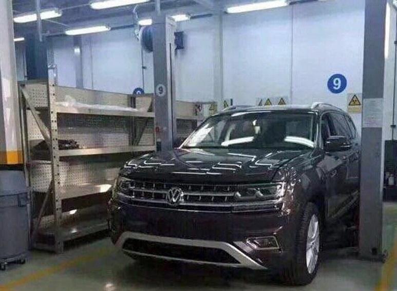 Раскрыта внешность семиместного кроссовера Volkswagen