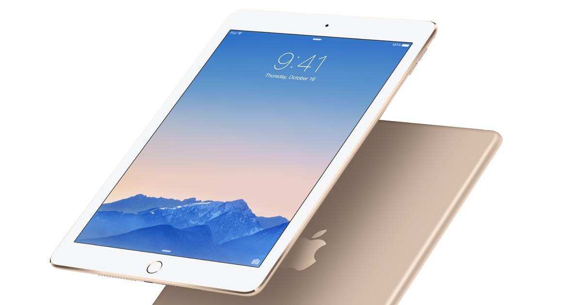 Основные виды неисправностей iPad Air 2