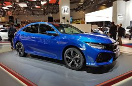 Хэтчбек Honda Civic прорубил окно в Европу