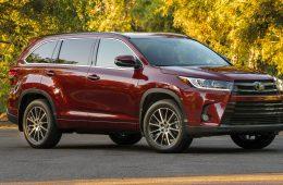 Обновленная Toyota Highlander: раскрыты подробности