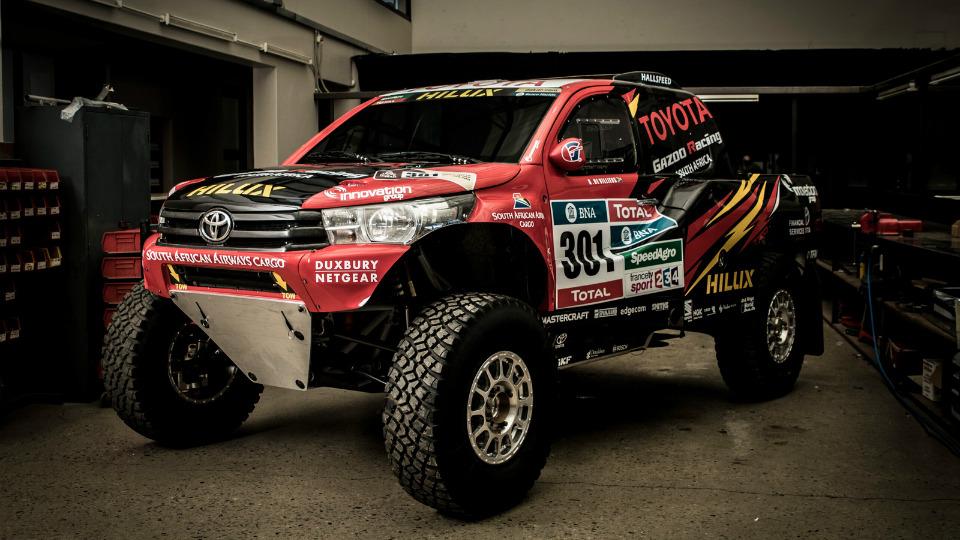 В ЮАР построили новый Toyota Hilux для «Дакара»