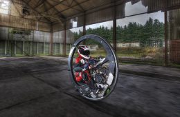Британец установил мировой рекорд скорости на моноцикле