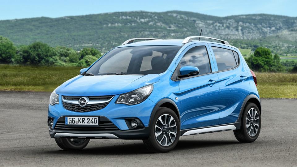 Самый маленький Opel получил вседорожную версию