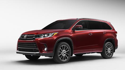 Обновленный Toyota Highlander доберется до России
