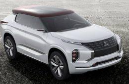 Mitsubishi привезет в Париж предвестника гибридного кроссовера