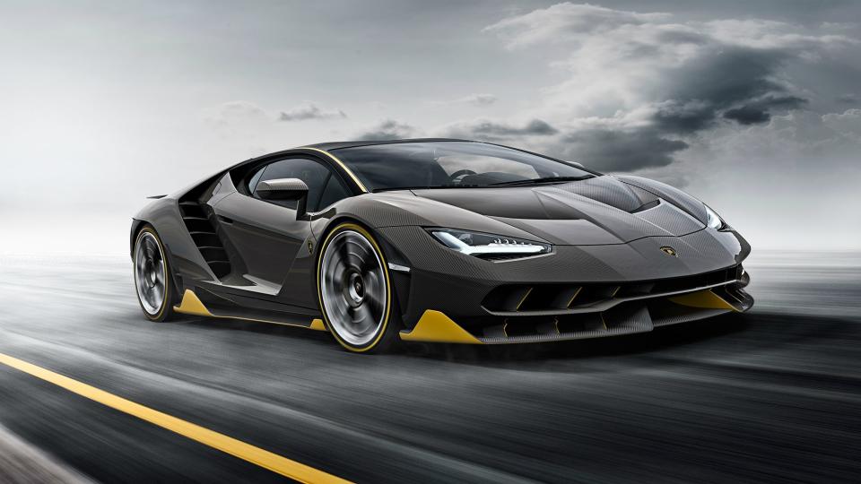Lamborghini построит электрический гиперкар