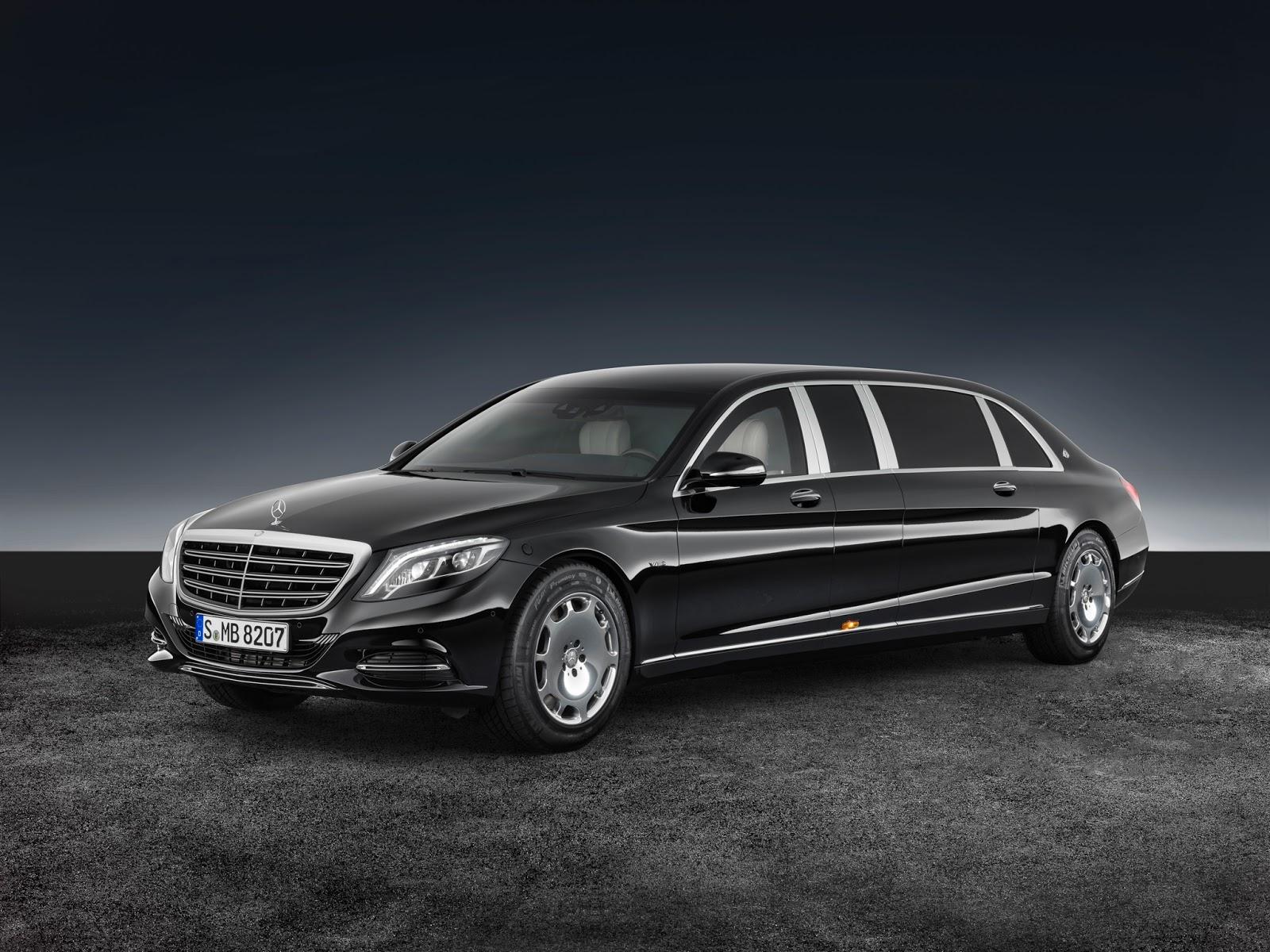 Самый крутой Mercedes получил бронированную версию