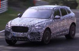 Первый кроссовер Jaguar получит «заряженную» версию