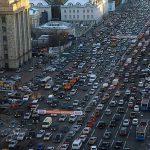 Московские пробки оказались источником ДТП