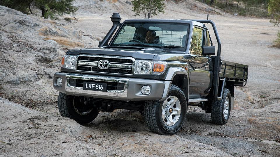 Toyota Land Cruiser 70 получила пять звезд за краш-тест