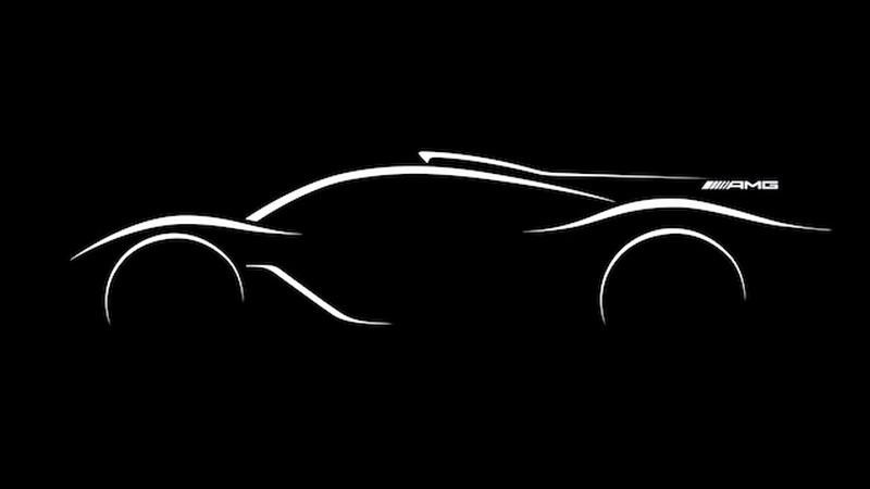 1000-сильный гиперкар Mercedes-AMG появится в 2018 году