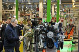 Путин открыл производство новых двигателей