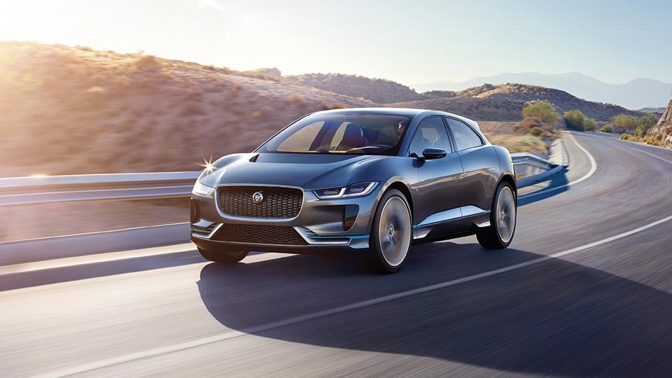 Первый электрокар Jaguar появится в России в 2018 году