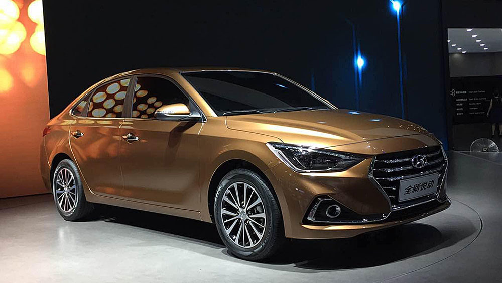 Celesta — новый седан марки Hyundai