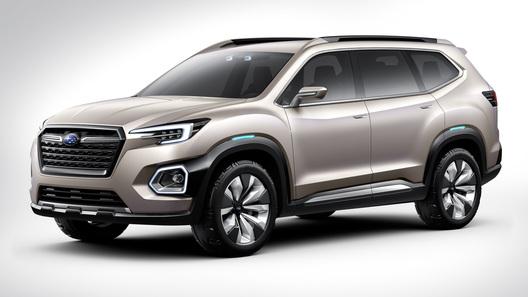 Subaru показала предвестника новой Tribeca
