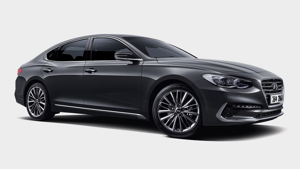 Hyundai Grandeur получил восьмидиапазонный «автомат»