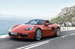 Porsche Boxster превратится в электромобиль