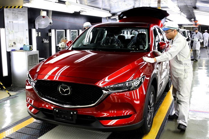 Новая Mazda CX-5: выпуск начался