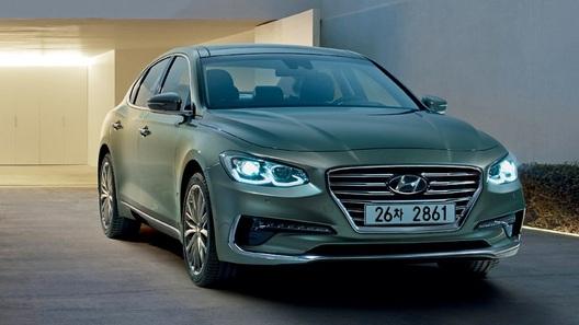 Hyundai раскрыла информацию о новом поколении седана Grandeur