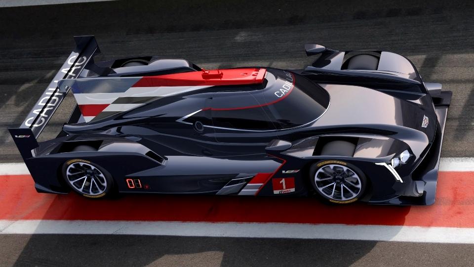 Cadillac представил 600-сильный спортпрототип