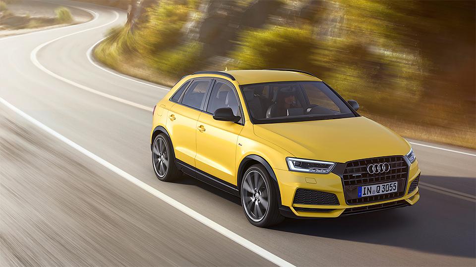 Компания Audi назвала рублевые цены на обновленный Q3