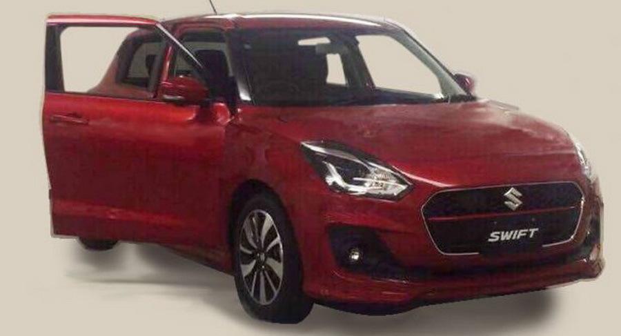Появились изображения нового Suzuki Swift