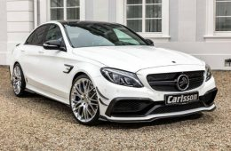 Mercedes-AMG C63 S научили разгоняться до 330 километров в час