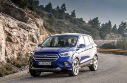 Ford объявил рублевые цены на обновленную «Кугу»