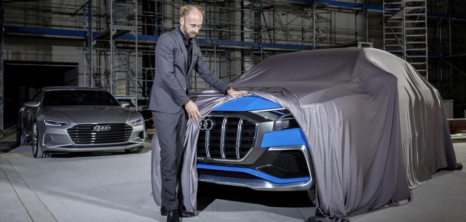 Новый дизайн марки Audi: это будет очень брутально