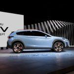 Новый кроссовер Subaru: первый тизер