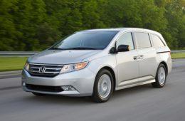 Honda прекратила продажу минивэнов Odyssey