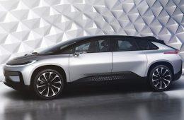 Фирма Faraday Future представила 1050-сильный электрокроссовер