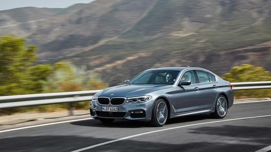 Названа дата старта продаж новой «пятерки» BMW в России