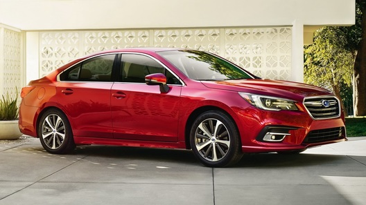 Subaru обновила седан Legacy