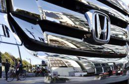 Honda отзовет в России более 135 тысяч автомобилей