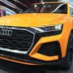 Заряженный Audi Q8 оказался мощным гибридом
