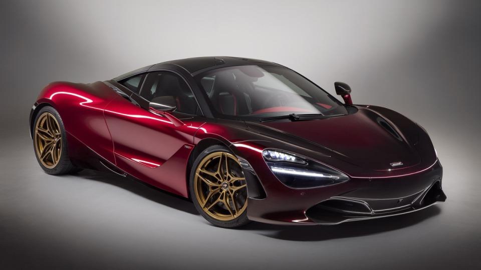 Новый суперкар McLaren получил первый тюнинг