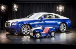 Rolls-Royce создал очень маленький электромобиль