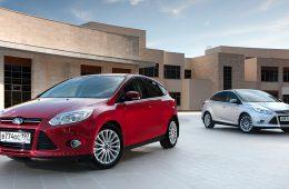 Ford Focus назван самой популярной иномаркой России