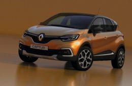 Renault обновила популярный кроссовер Captur