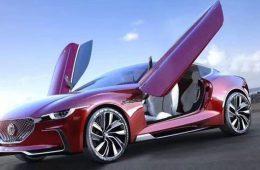 Марка MG сделала четырехместное электрокупе