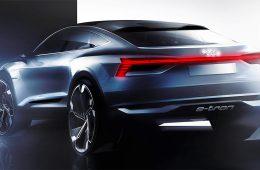 Audi раскрыла дизайн купеобразного кроссовера