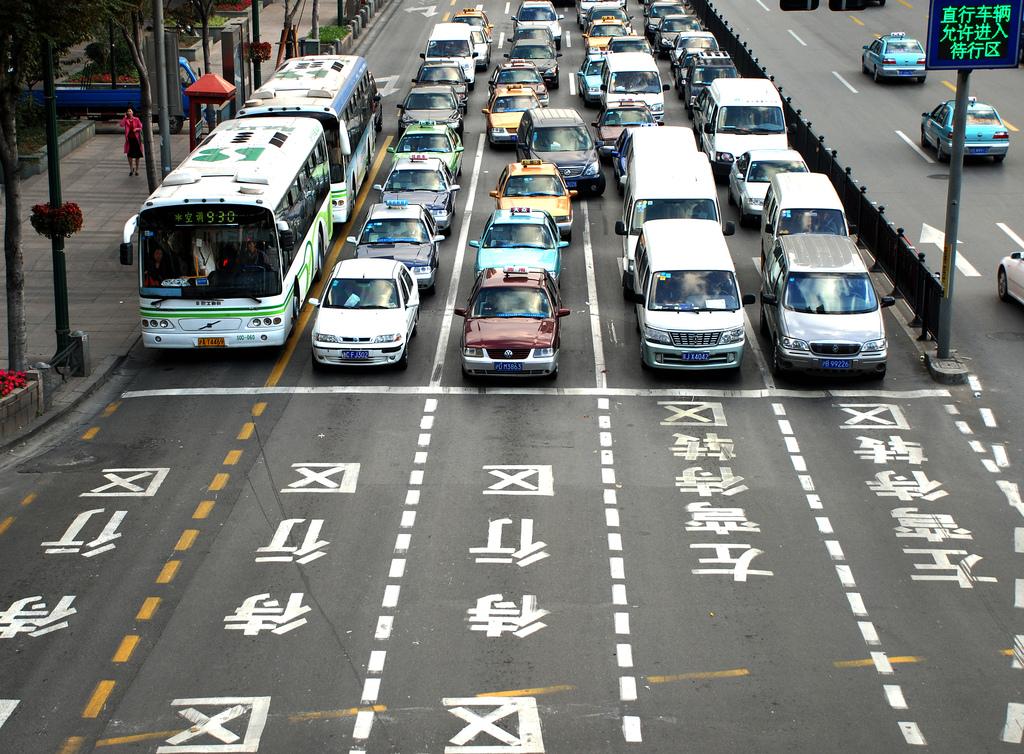 В Китае число автомобилей достигло 200 миллионов