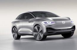 Новый кроссовер Volkswagen научился прятать руль от водителя
