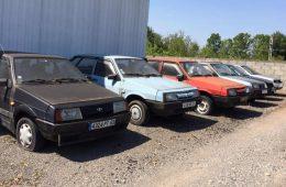 Во Франции нашли брошенный автосалон Lada с «девятками»